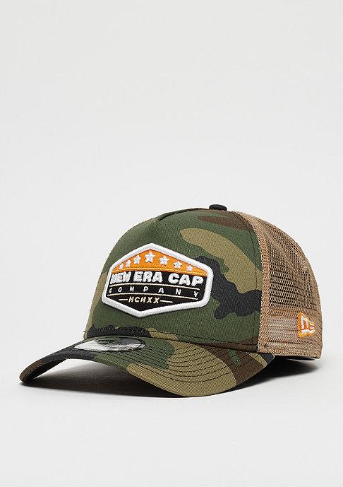 New Era 9Forty MXMXX Patch Trucker woodland camo