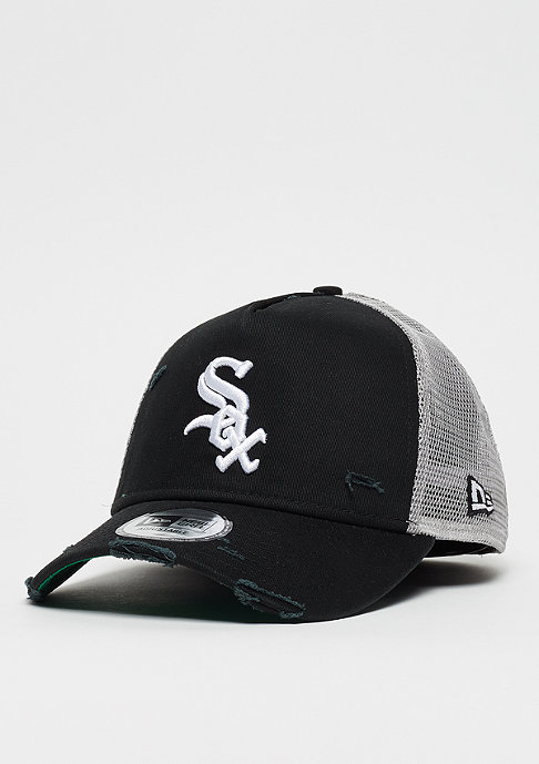 New Era 9Forty MLB Chicago White Sox Distressed Trucker otc