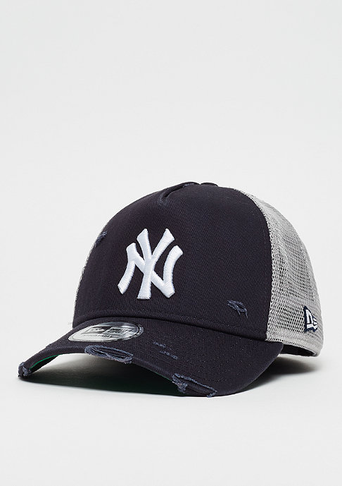 New Era 9Forty MLB New York Yankees Distressed Trucker otc