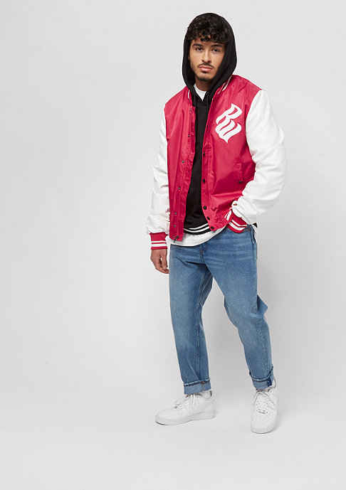 Rocawear Baseballjacket red