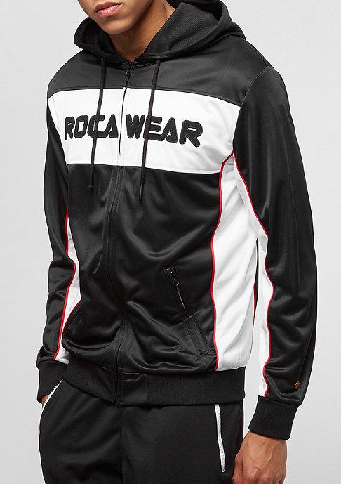 Rocawear Color Block Zip Hoody black