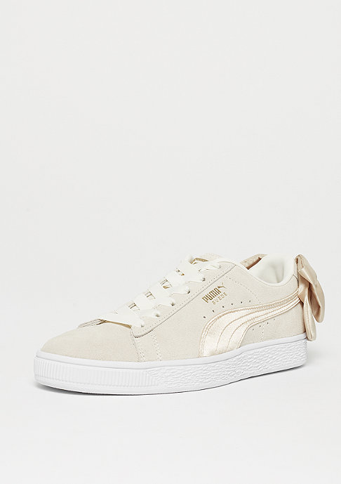 Puma Suede Bow BSQT marshmallow-metallic gold