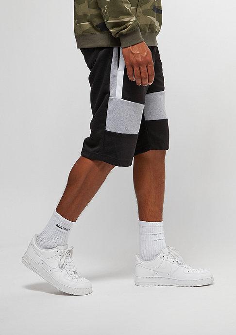 Southpole Fleece Shorts black
