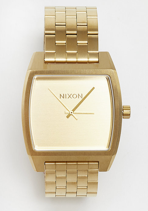 Nixon Time Tracker all gold