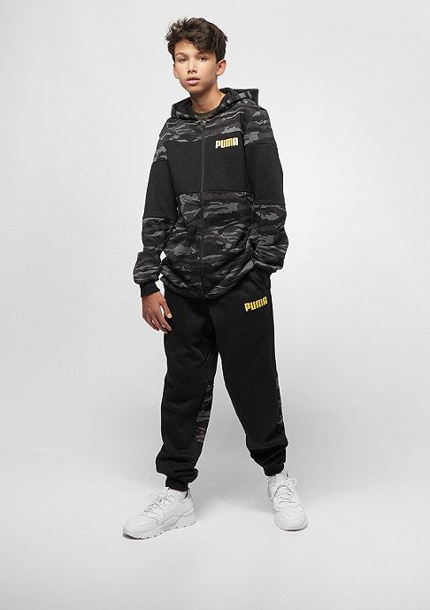 Puma Junior Dark Camo Bling Takedown AOP cotton black/gold