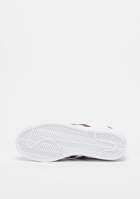 adidas Superstar ftwr white/red night/silver metallic