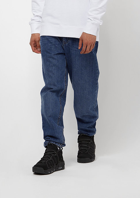 Urban Classics Denim Baggy Pants clean blue