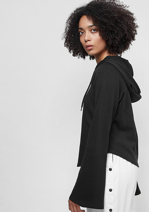 Urban Classics Ladies Tube Sleeve Hoody black