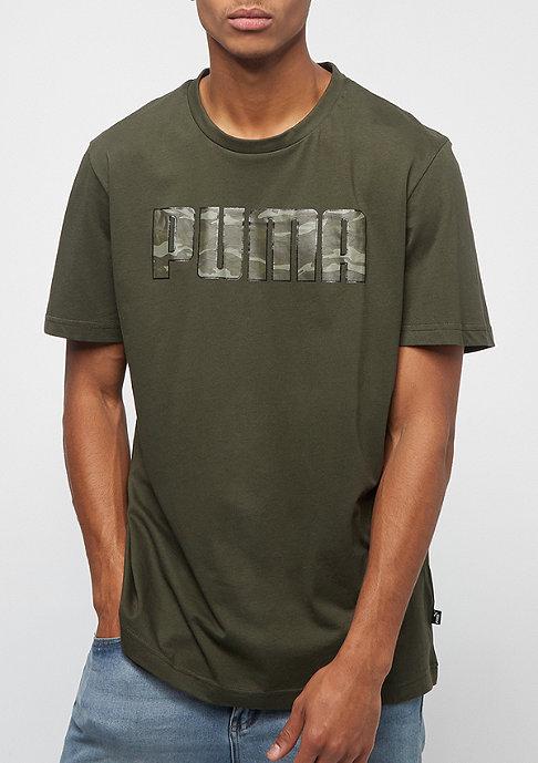 Puma Camo Logo forest night