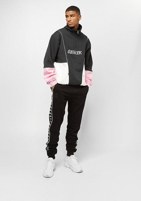 Grimey Hazy Sun High Neck Sweatshirt black