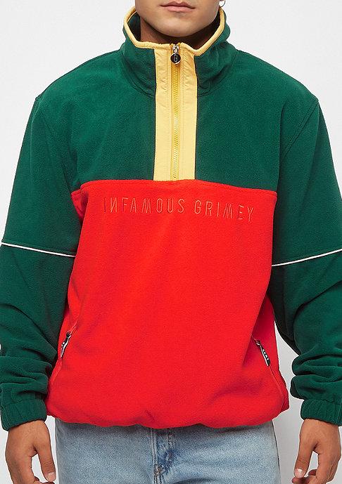 Grimey GTO Heritage Jumper Polar Fleece green