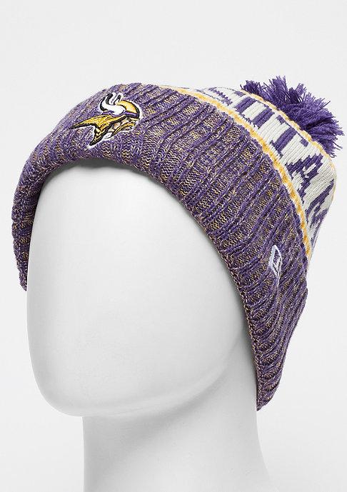 New Era NFL Minnesota Vikings Bobble Sideline Knit Home otc