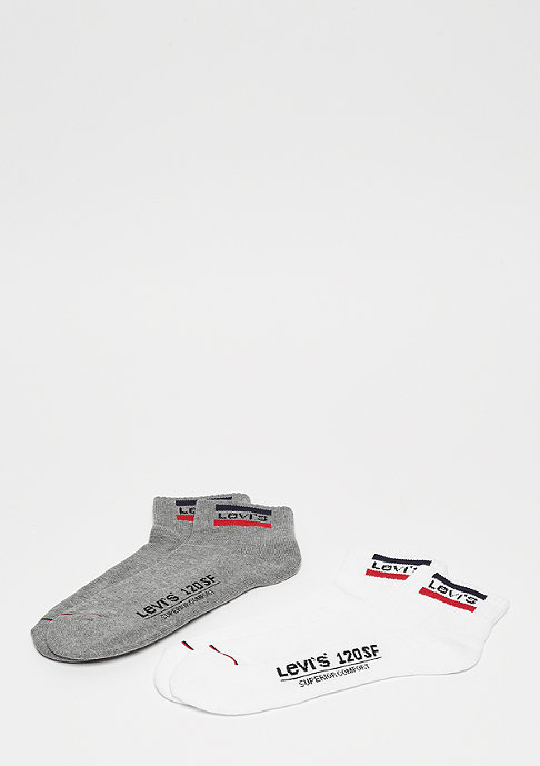 Levis 120SF Mid Cut Sportswear Logo 2 P white/grey