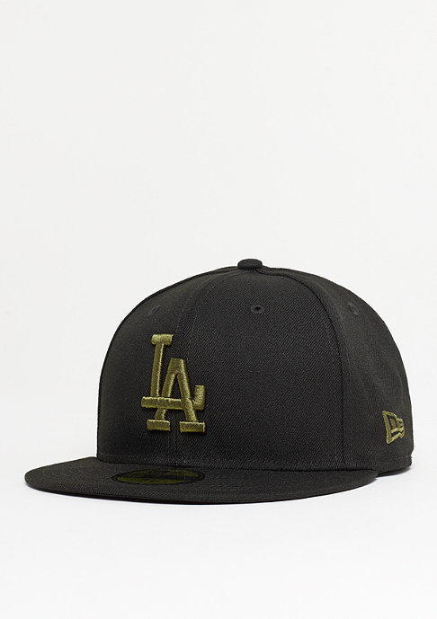 New Era 59Fifty MLB Los Angeles Dodgers League black/new olive