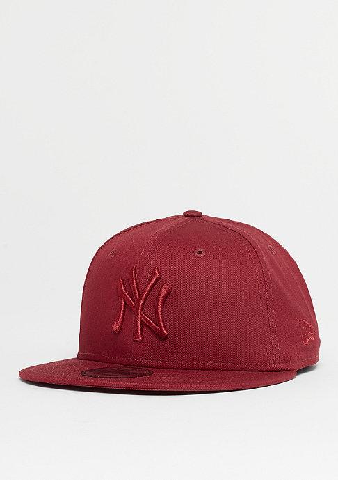 New Era 9Fifty MLB New York Yankees League cardinal/cardinal