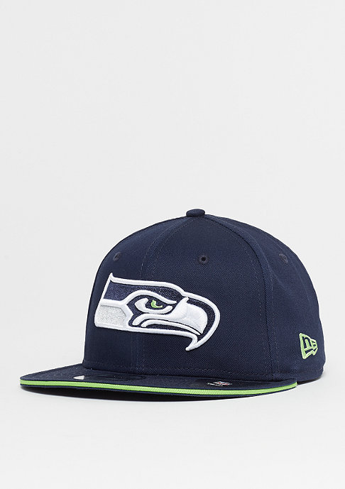 New Era 9Fifty NFL Seattle Seahawks Team blue/action green