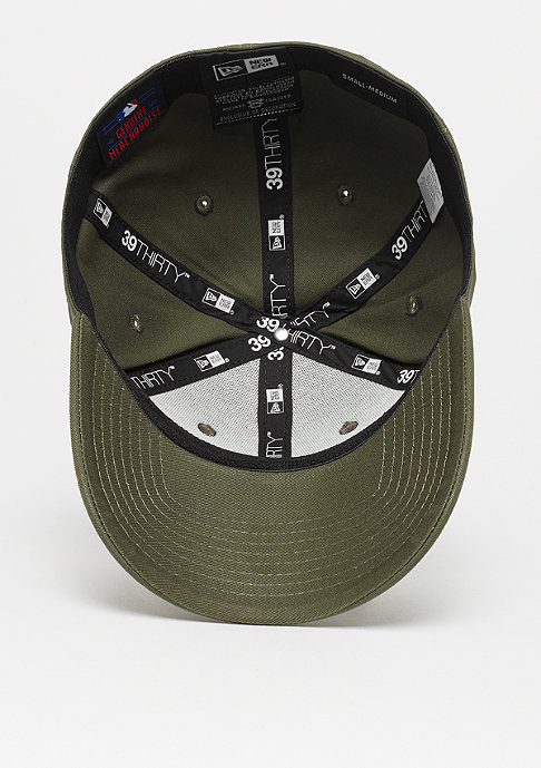 New Era 39Thirty MLB Los Angeles Dodgers League new olive/black