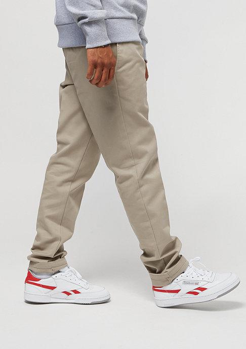 Dickies Slim Fit Work Pant khaki