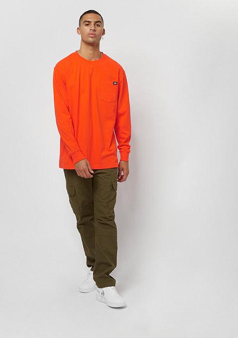 Dickies Pocket Tee L/S orange