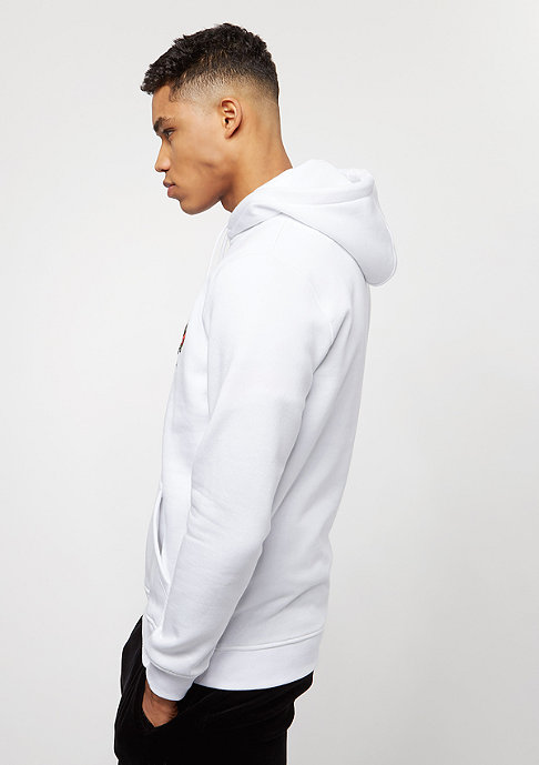Mister Tee Embroidered Rose Hoody white