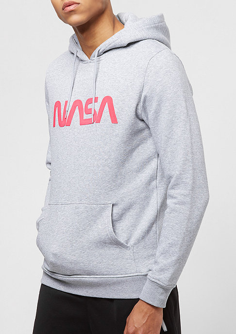 Mister Tee NASA Worm Logo grey