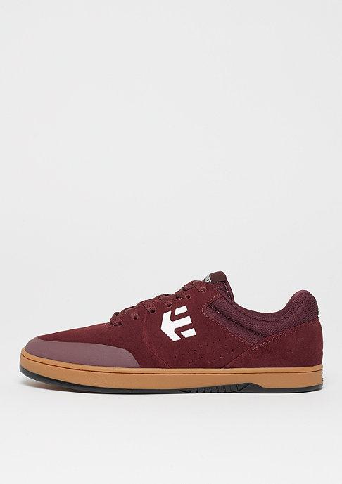 Etnies Marana burgundy/tan/white