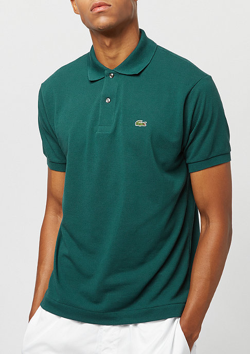 Lacoste Men short sleeved ribbed collar shirt aconit
