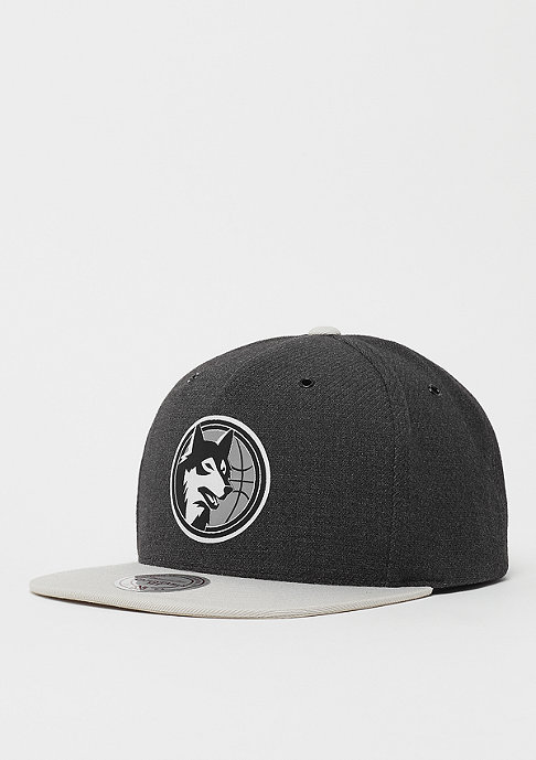 Mitchell & Ness NBA Minnesota Timberwolves Reflective Snap charcoal/grey