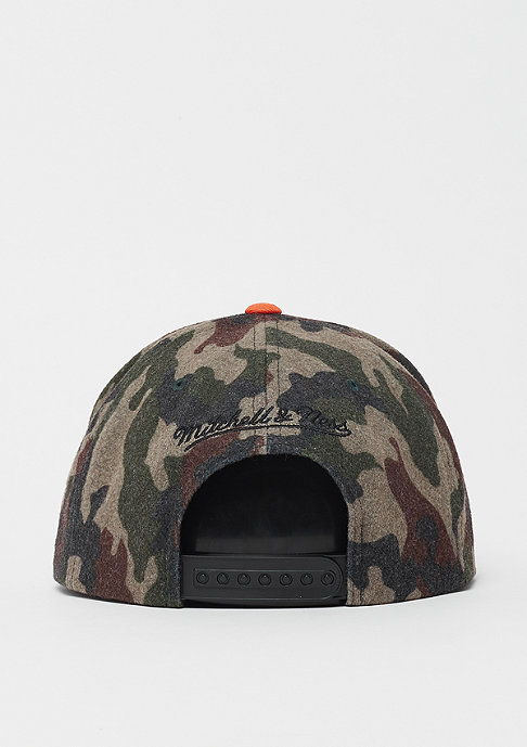 Mitchell & Ness NBA Cleveland Cavaliers HWC Camo Flannel Snap camo