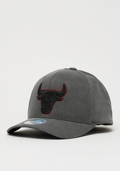 Mitchell & Ness Washed Denim 110 Curved Snap black
