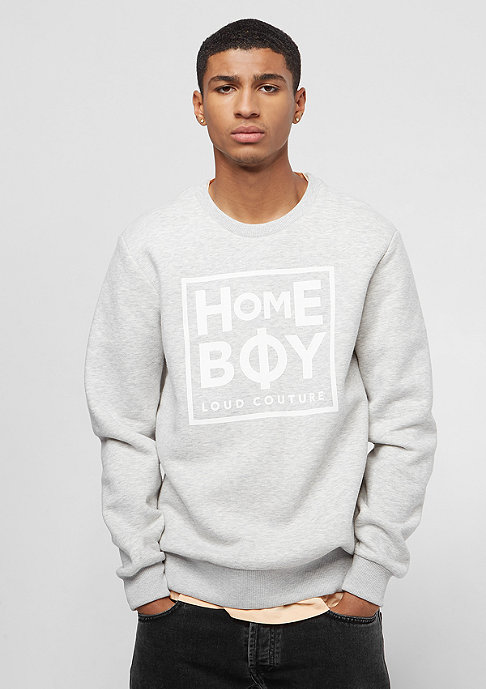 Homeboy Def Crew Neck grey heather