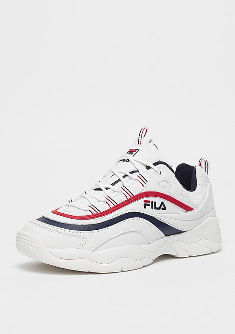 Fila Heritage Ray Low White/FILA Navy/FILA Red