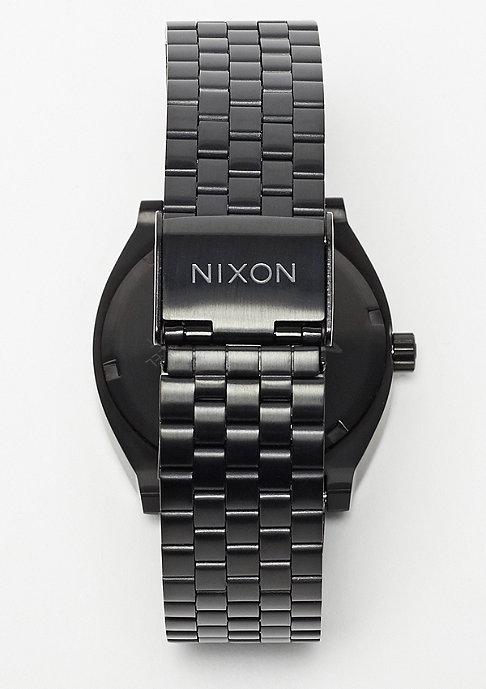 Nixon Time Teller all black/dark blue
