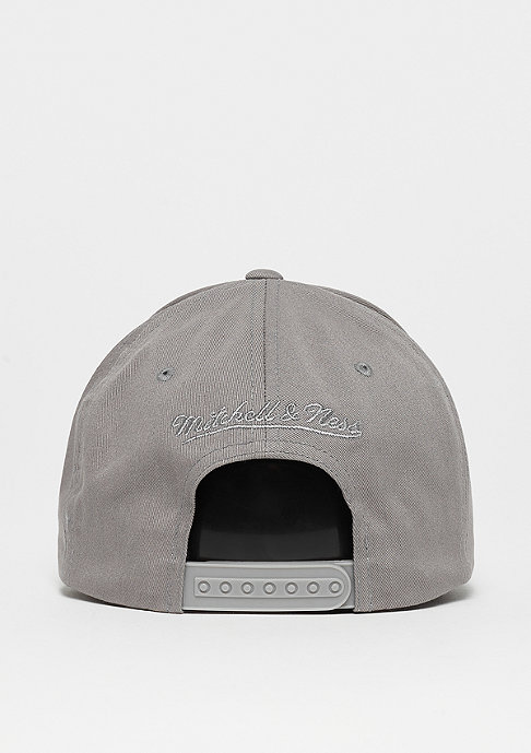Mitchell & Ness Washed Heather 110 Curved Snap grey