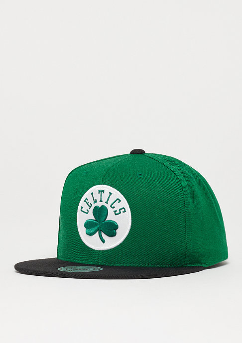 Mitchell & Ness NBA Bosten Celtics Satin Fused Snap green
