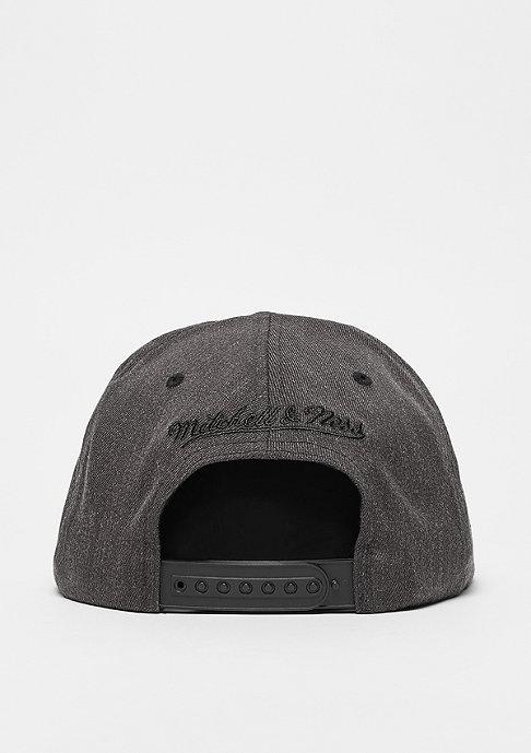 Mitchell & Ness 2Tone Logo 110 Flat Snap black/charcoal