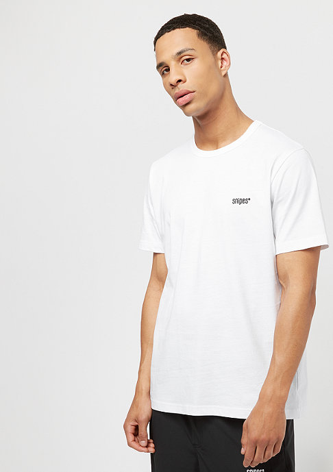 SNIPES Back Basic Logo white/black