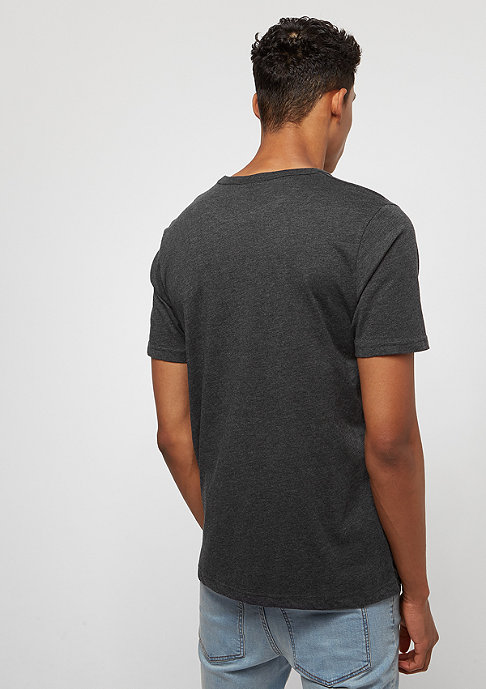 SNIPES Back Basic Logo charcoal/white