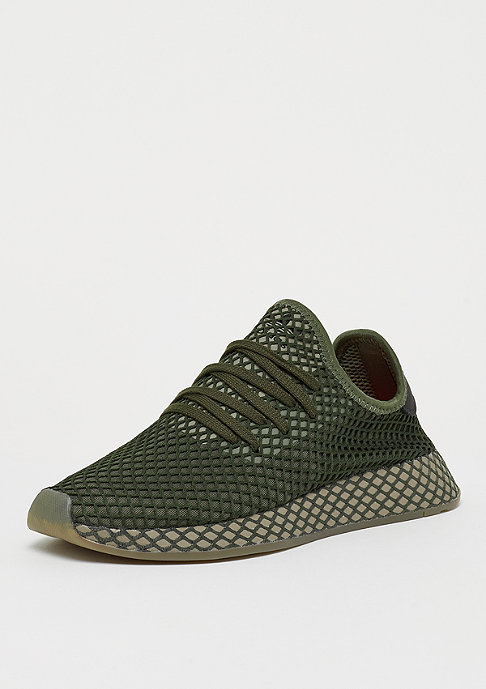 adidas Deerupt base green/base green/orange
