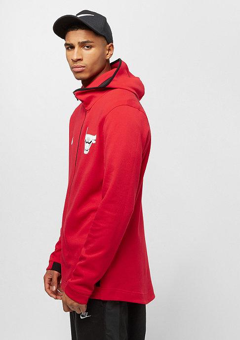 NIKE Basketball NBA Chicago Bulls Dry FZ university red/black/white