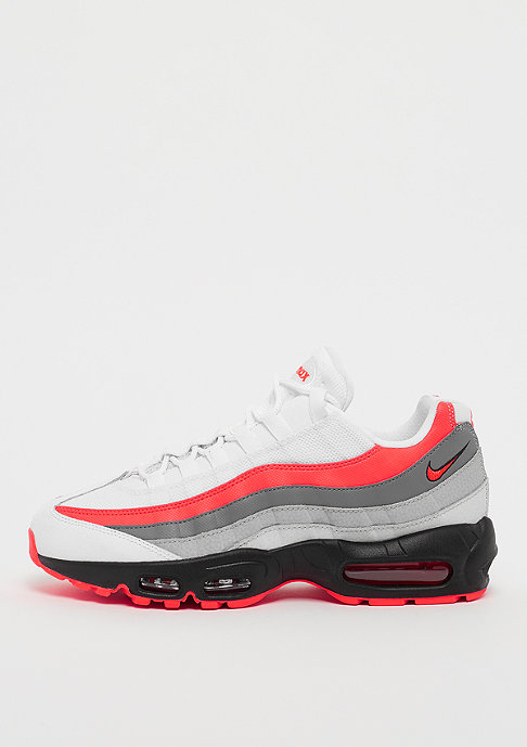 NIKE Air Max 95 white/bright crimson/black/pure platinum