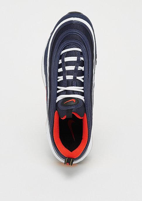 NIKE Air Max 97 midnight navy/habanero red/black/white