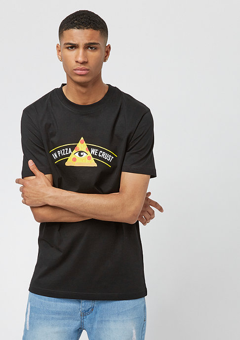 Turn Up Crust Tee black