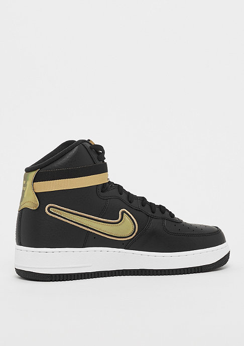 NIKE Air Force 1 High '07 LV8 black/metallic gold/white