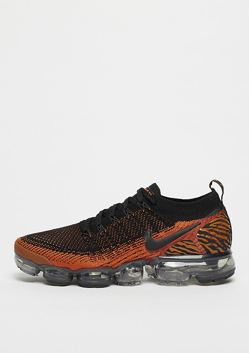 NIKE Running Air VaporMax Flyknit 2 desert orange/black/total orange