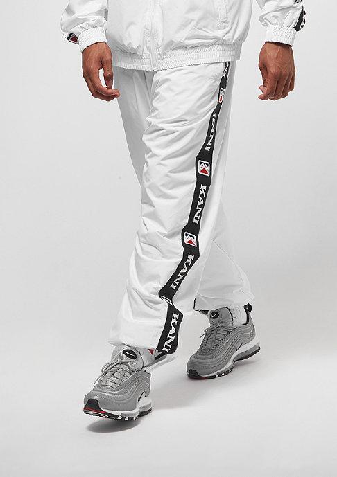 Karl Kani Retro Trackpants white/green/black