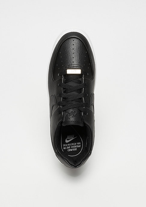 NIKE Air Force 1 Sage low black/black/white