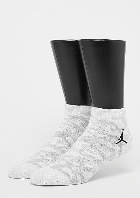 JORDAN Elephant Quarter Socks white/black