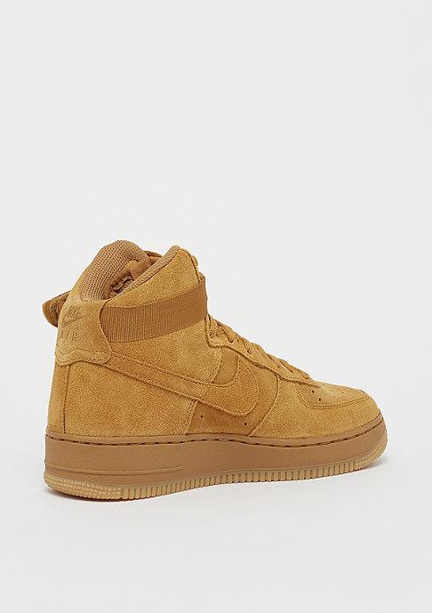 NIKE Air Force 1 High LV8 (GS) wheat/wheat gum/light brown