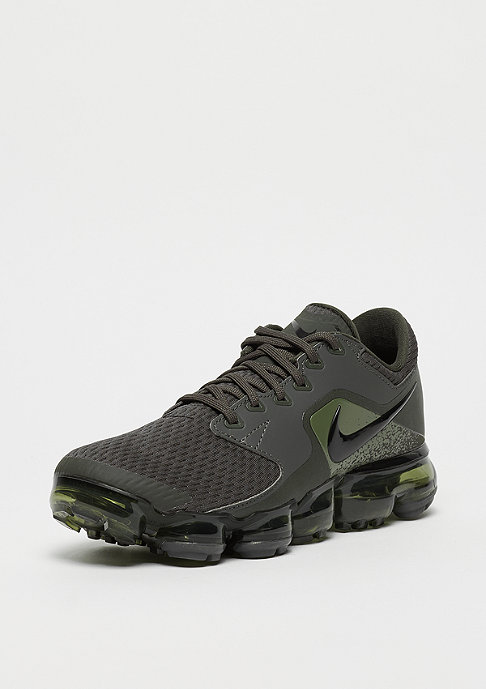 NIKE Air VaporMax (GS) newsprint/black/medium olive
